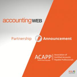 New Partnership: ACAPP & AccountingWebLive
