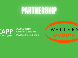 ACAPP the leading Accounts Payable Certification Programme have partnered with the leading recruitment specialist for Financial Operations professionals, Walters People, part of Robert Walters.
